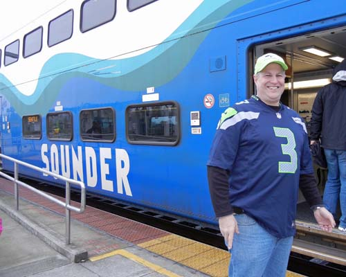 Sounder to NFC Championship, Jan. 19, 2014